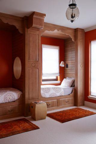 儿童房床地中海风格装饰图片