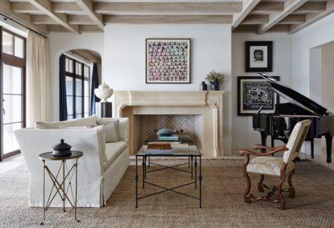 客厅沙发地中海风格装修效果图