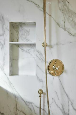 浴室细节美式风格效果图