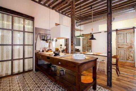 格调厨房推拉门设计