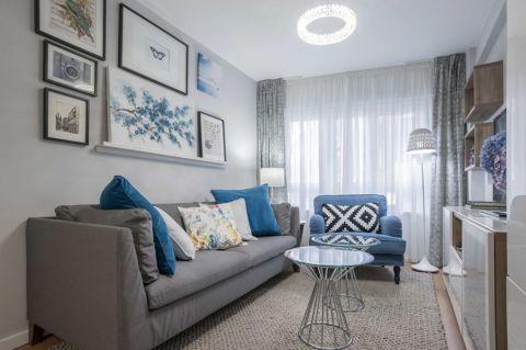 98平米公寓北欧风格装修图片