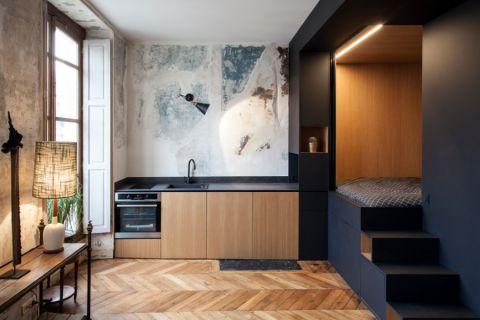 公寓60平米混搭风格装修图片