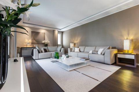 现代风格楼房148平米装饰设计图片