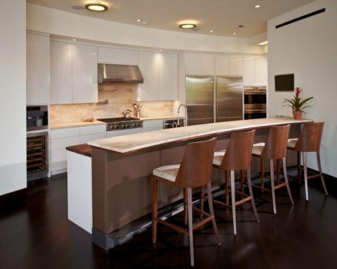 186平米楼房现代风格设计效果图