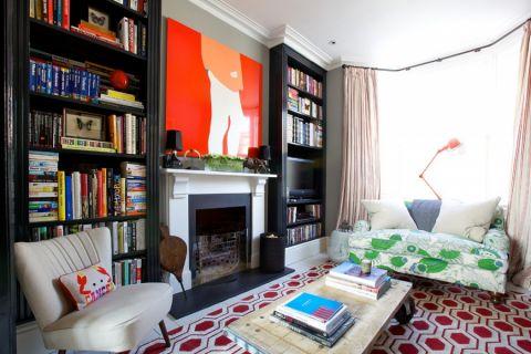 公寓120平米混搭风格装修图片