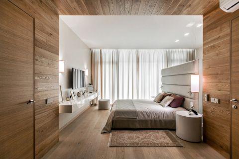 107平米复式现代风格设计图