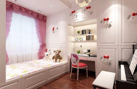 新中式儿童房榻榻米设计方案