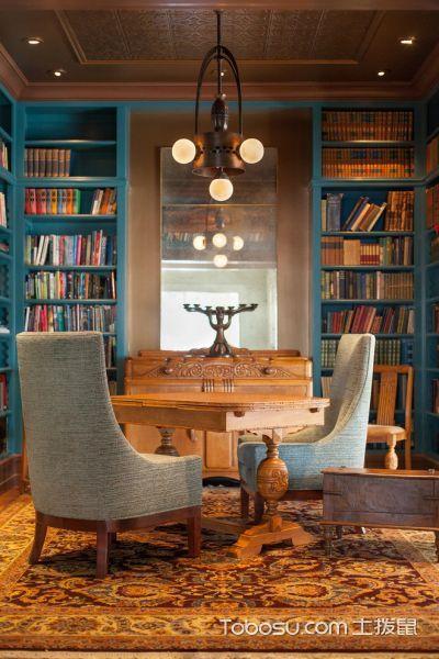 书房美式风格装修图片