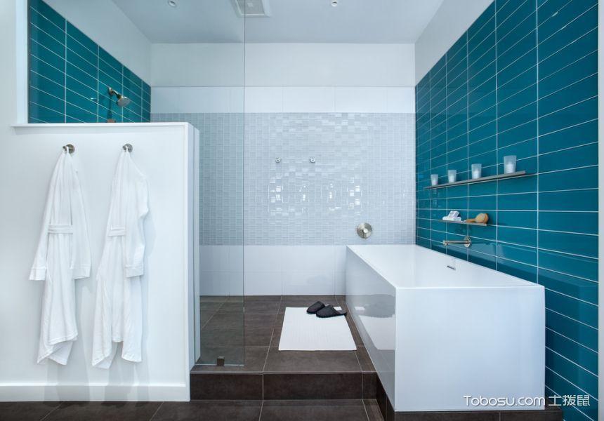 浴室 吊顶_166平米四合院现代风格装修图片