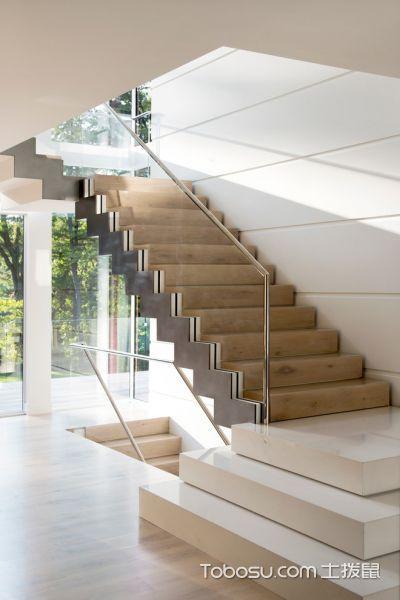 玄关黄色楼梯现代风格装修设计图片