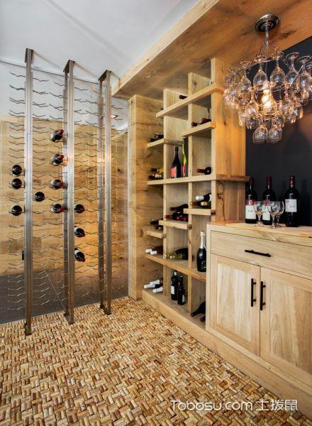2019现代地下室效果图 2019现代酒窖装饰设计