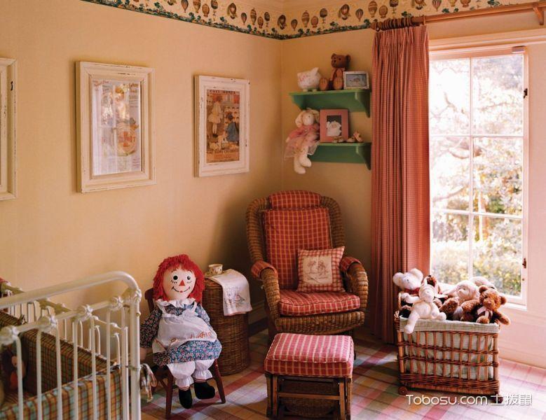 儿童房美式风格装修设计图片