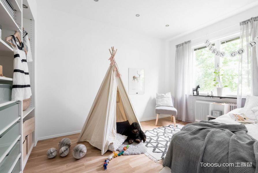 儿童房北欧风格装饰设计图片