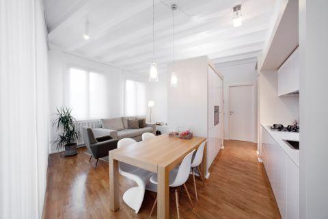 现代风格公寓63平米装修图片