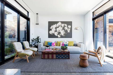 123平米庭院现代风格装修图片