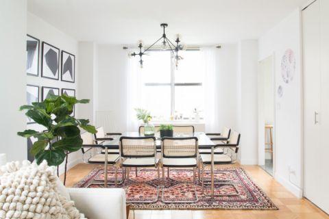 119平米公寓北欧风格设计效果图