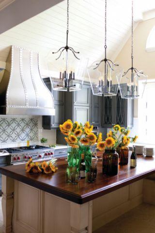 厨房混搭风格装潢设计图片
