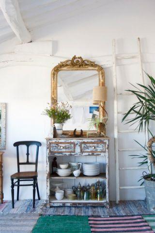 厨房背景墙混搭装修美图