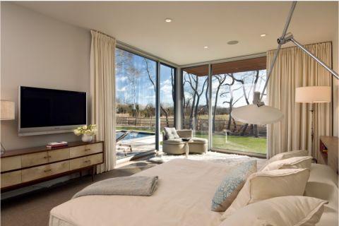 300平米别墅现代风格设计效果图