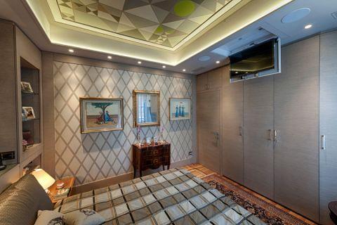 二居室87平米混搭风格装修实景图片