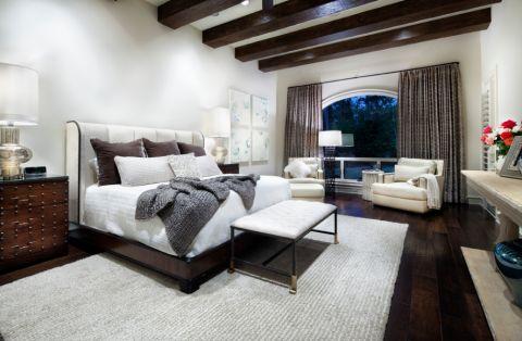 现代风格一居室104平米装修图片