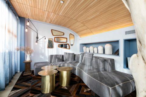 现代风格跃层115平米装饰设计图片
