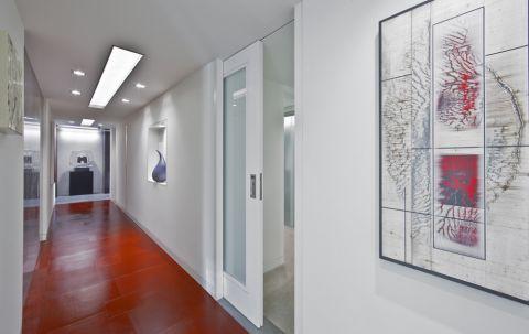 别墅219平米现代风格装潢实景图