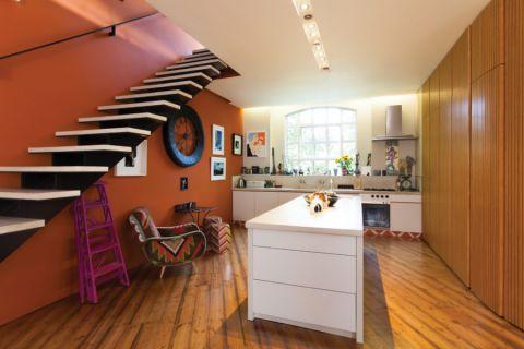 混搭风格四居室158平米装修案例