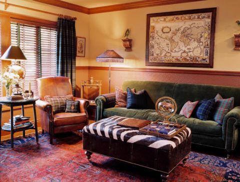 美式风格别墅153平米装修图片