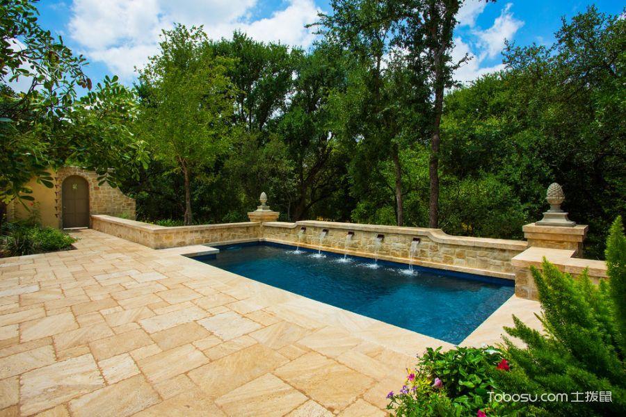 自然泳池设计图欣赏