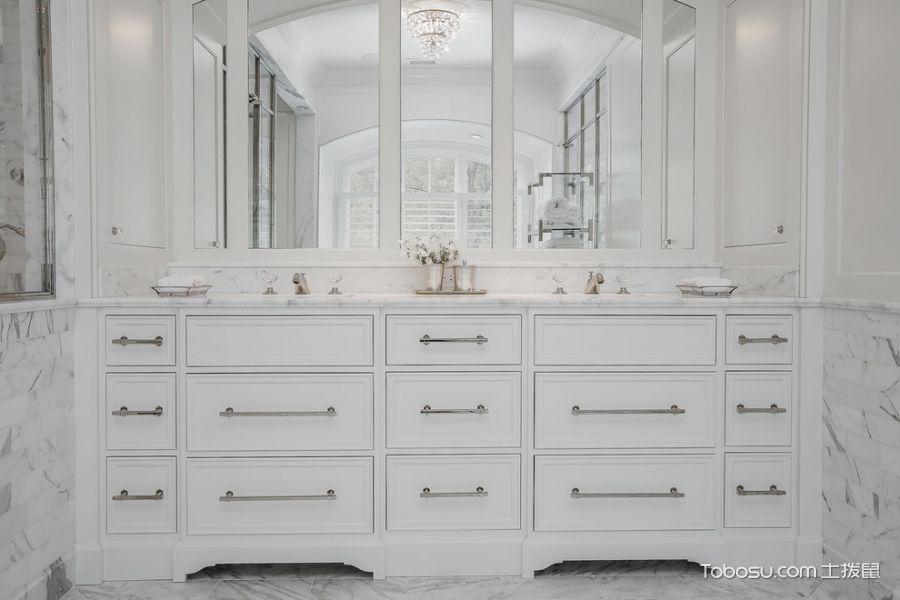 厨房美式风格效果图大全2017图片_土拨鼠极致时尚厨房美式风格装修设计效果图欣赏