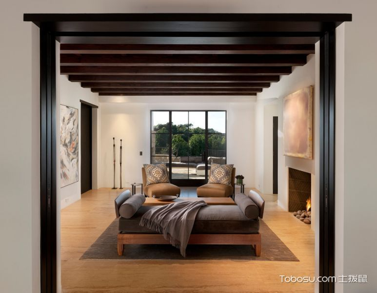 客厅地中海风格效果图大全2017图片_土拨鼠清新创意客厅地中海风格装修设计效果图欣赏