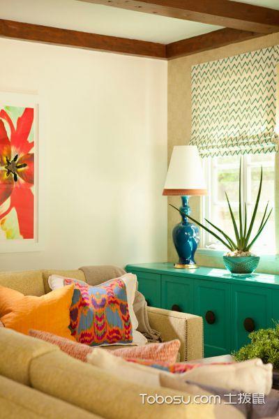 客厅现代风格效果图大全2017图片_土拨鼠温暖唯美客厅现代风格装修设计效果图欣赏