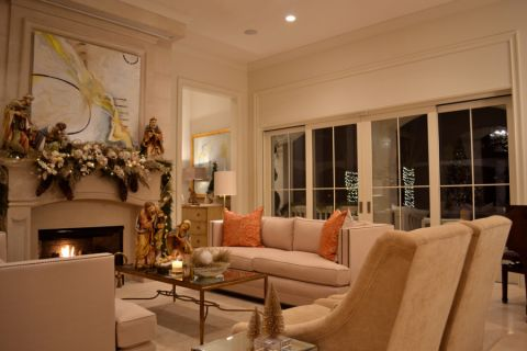 108平米四居室美式风格设计效果图