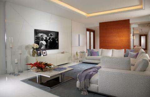 133平米庭院现代风格装饰图片