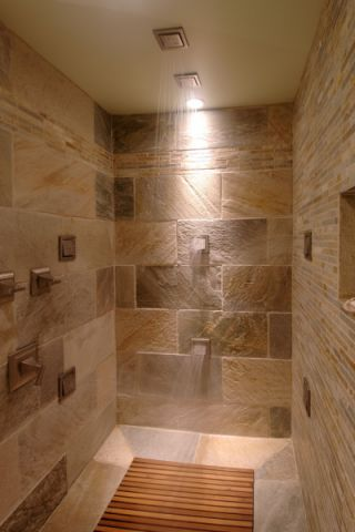 浴室现代风格效果图大全2017图片_土拨鼠文艺沉稳浴室现代风格装修设计效果图欣赏