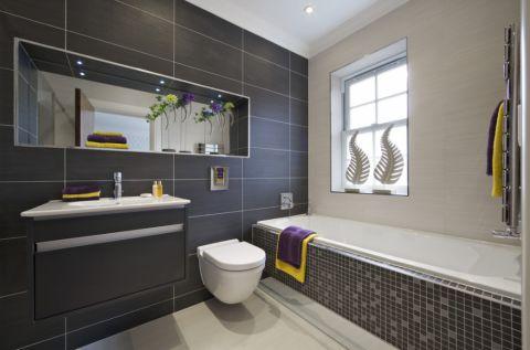 现代风格一居室127平米装修图