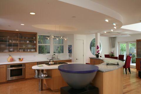 三居室300平米现代风格装修图片