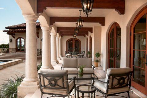 300平米套房地中海风格装修图片