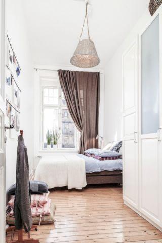 北欧风格一居室114平米装修图片