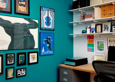 117平米一居室现代风格设计图片