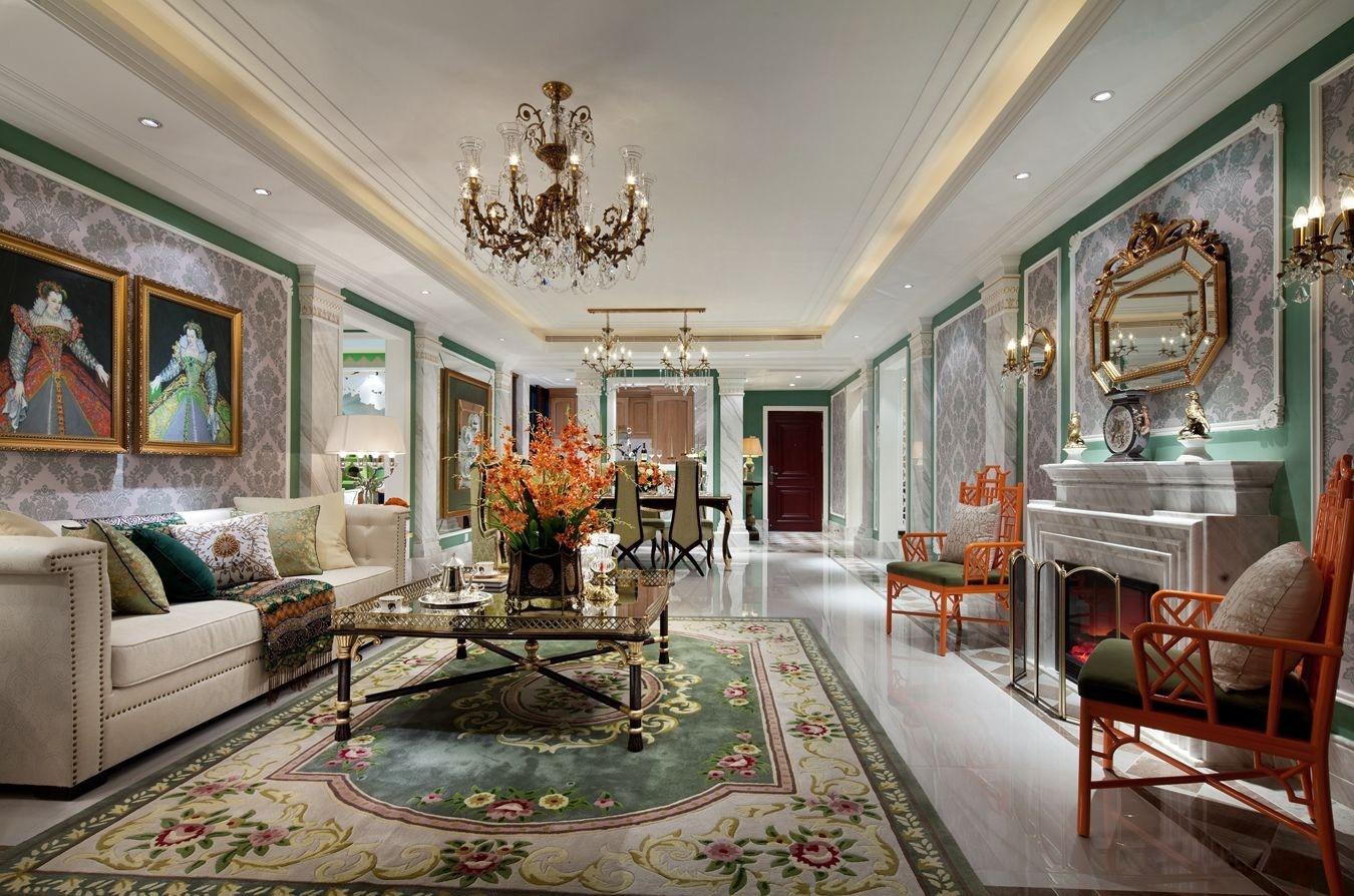 3室2卫2厅180平米美式风格