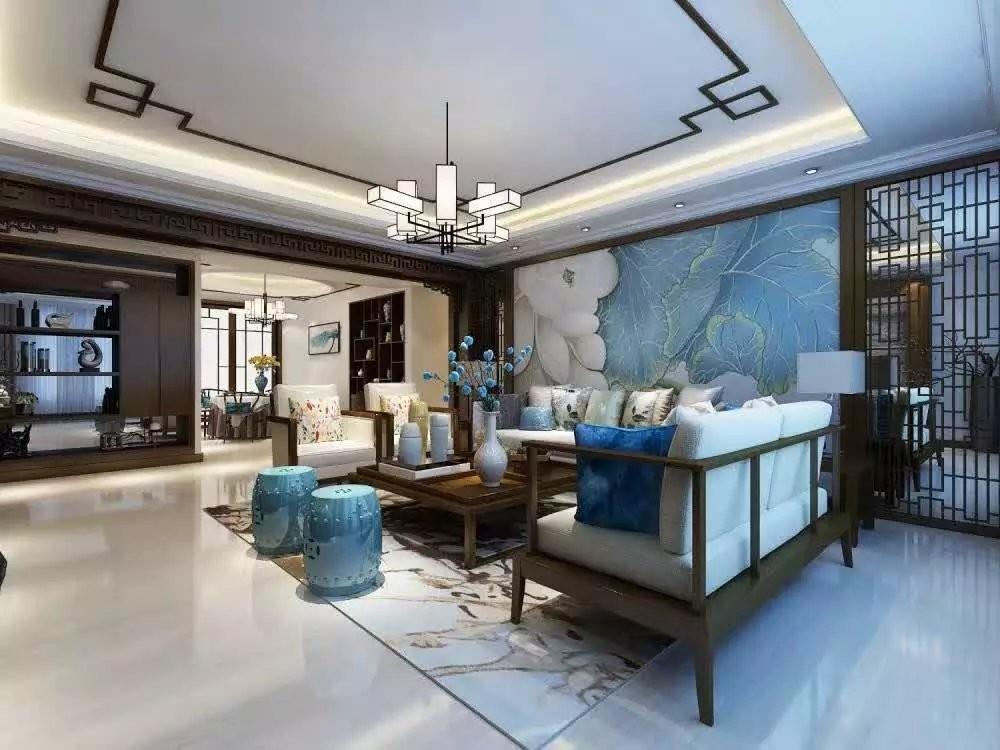 3室2卫2厅180平米现代中式风格