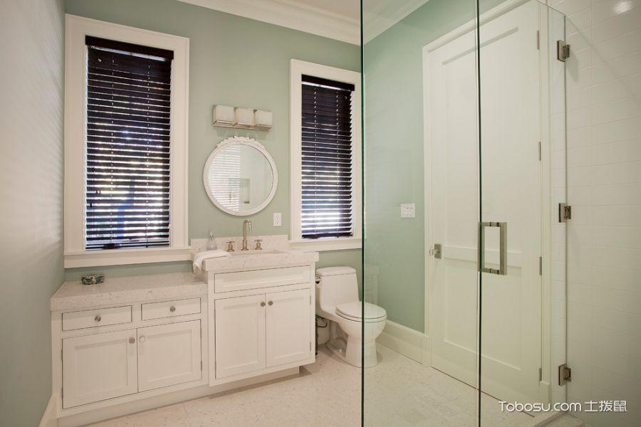 浴室现代风格效果图大全2017图片_土拨鼠潮流雅致浴室现代风格装修设计效果图欣赏