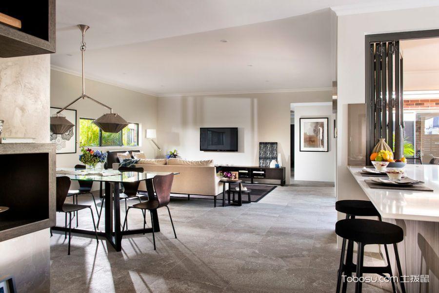 客厅现代风格效果图大全2017图片_土拨鼠清爽温馨客厅现代风格装修设计效果图欣赏