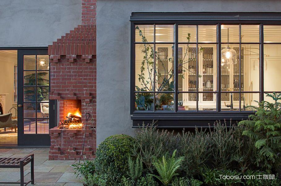 走廊美式风格效果图大全2017图片_土拨鼠温暖质朴走廊美式风格装修设计效果图欣赏
