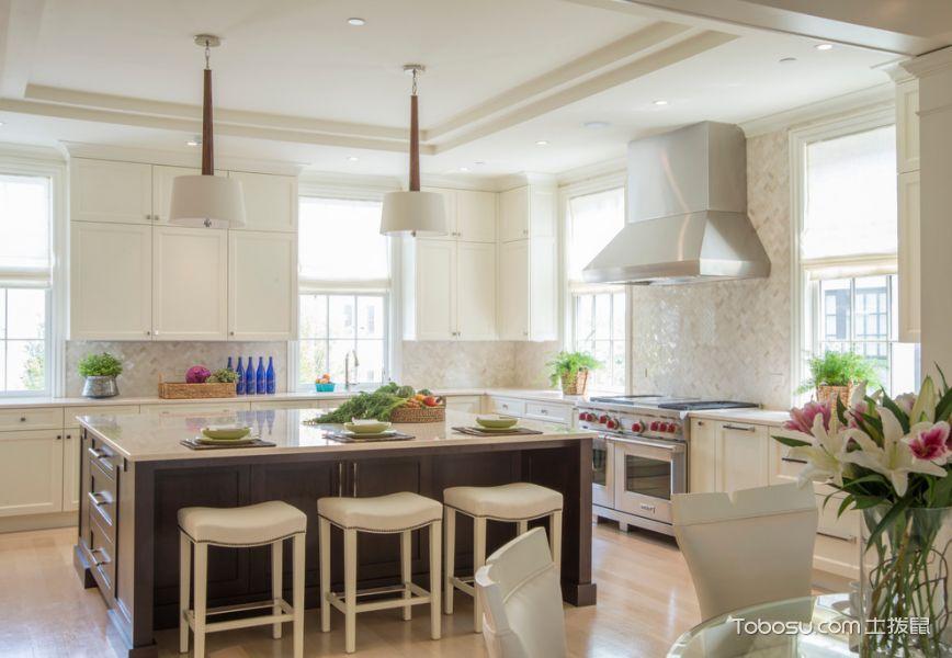 客厅美式风格效果图大全2017图片_土拨鼠干净格调客厅美式风格装修设计效果图欣赏