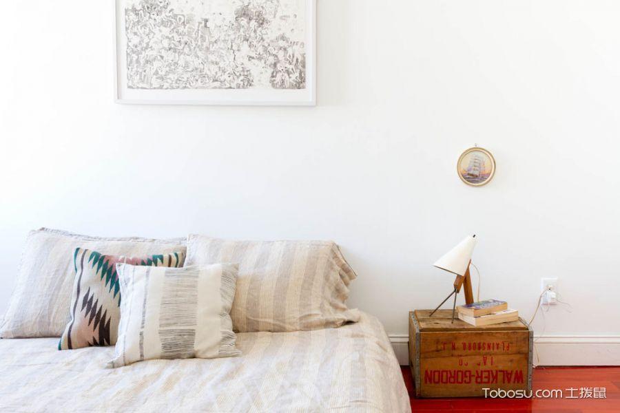 卧室混搭风格效果图大全2017图片_土拨鼠典雅沉稳卧室混搭风格装修设计效果图欣赏