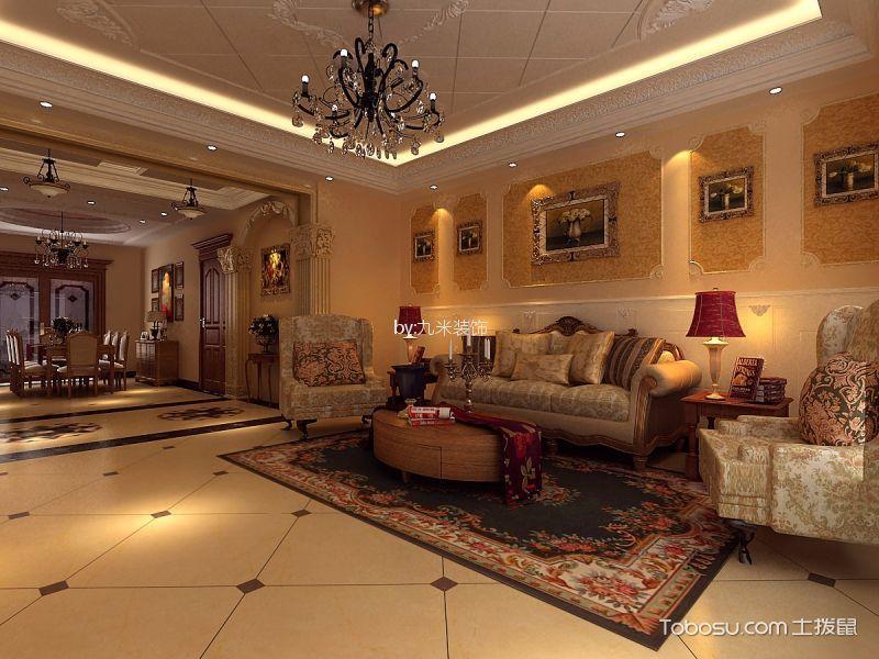 12万预算150平米四室两厅装修效果图