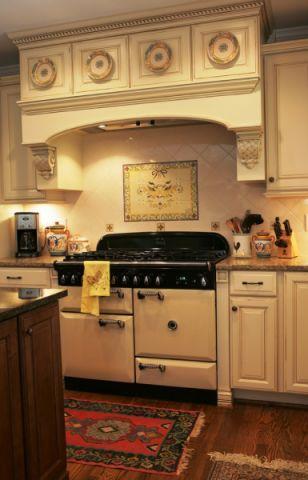 清新厨房细节装潢实景图